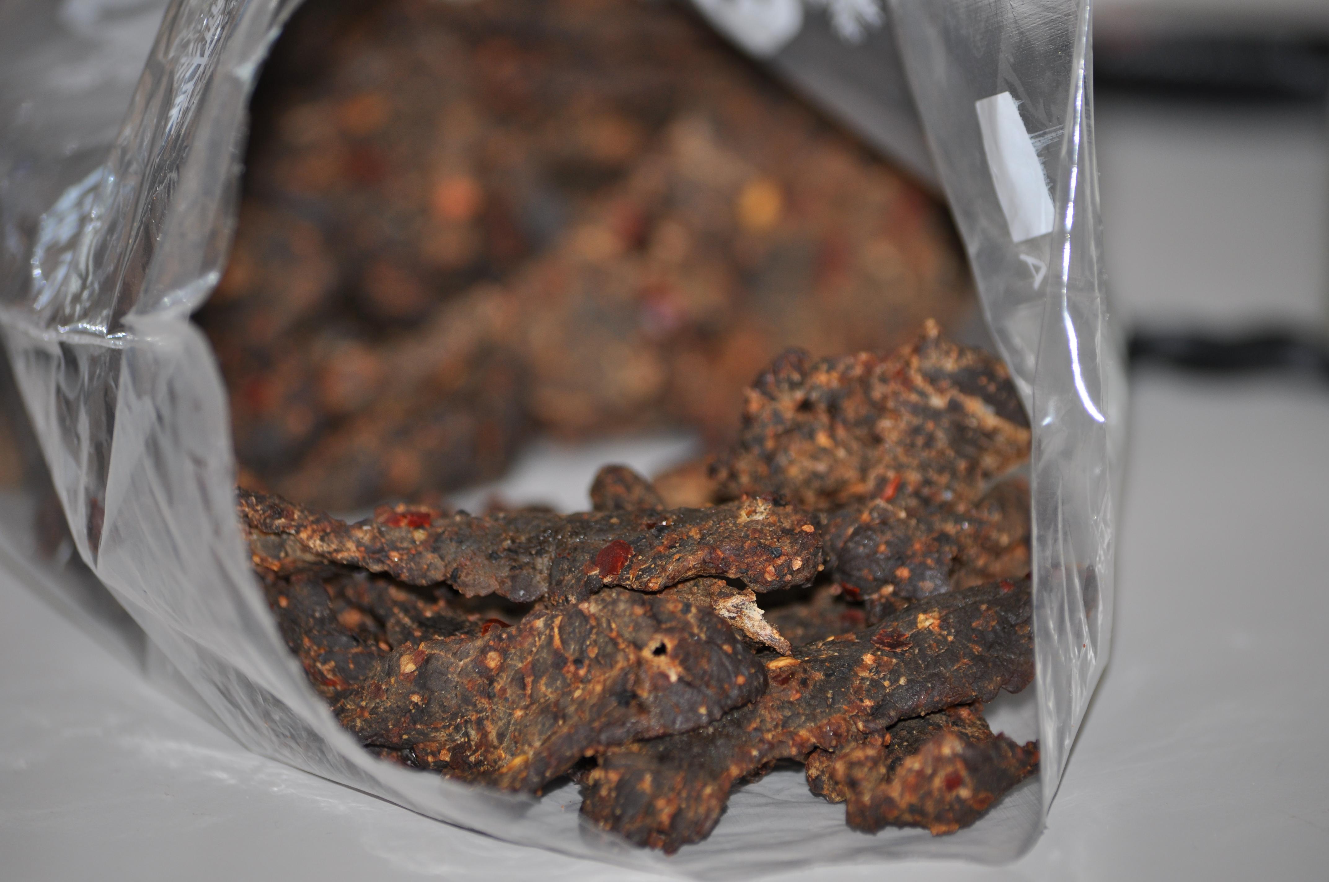 zelfgemaakte beef jerky